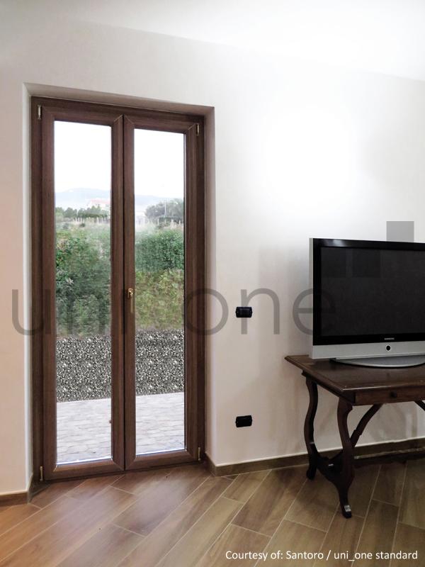 Finestre legno alluminio roma serramenti e infissi cla - Finestre in alluminio roma ...