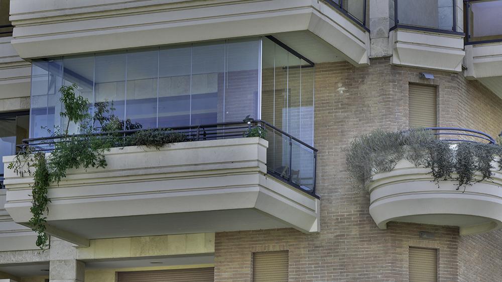 Vetrate panoramiche - CLA Infissi in alluminio schuco